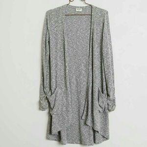 H.I.P. Ribbed Cardigan Sweater